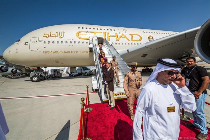 Abu Dhabi avión A380