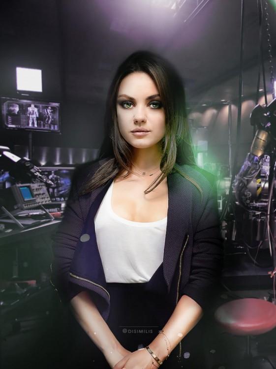 Mila Kunis como Hulk