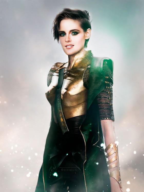 Kristen Stewart como Loki