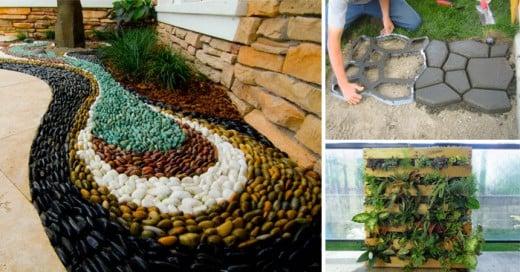 16 ideas para embellecer tu jardín
