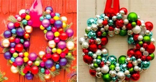20 Grandes Ideas para crear adornos de Navidad de bajo presupuesto ¡Decora tu casa!