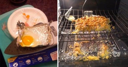 Ejemplos graciosos de gente que se cree chef y logran un verdadero desastre goumet
