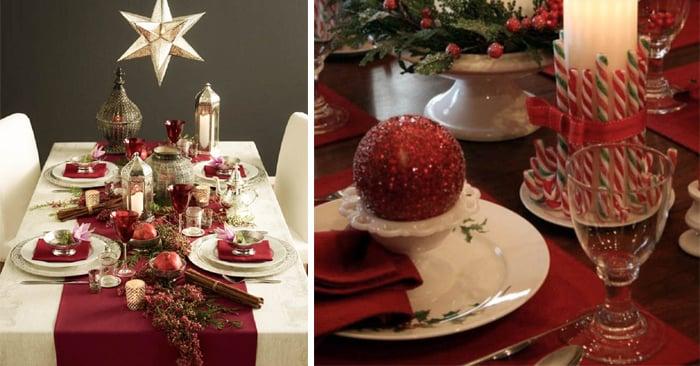 Ideas para decorar tu mesa esta navidad - Decorar la mesa de navidad ...