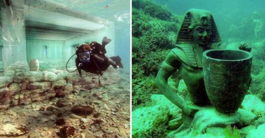 Ciudades que quedaron bajo el agua y aun conservan su belleza