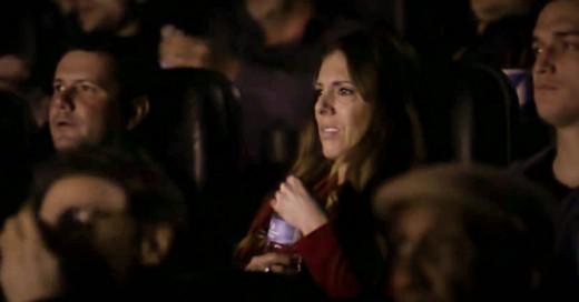 Gran CAmpaña en un cine