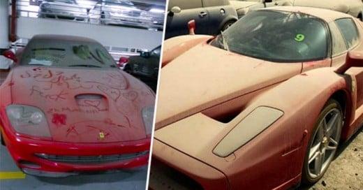 Los carros de Lujo Abandonados en Dubai
