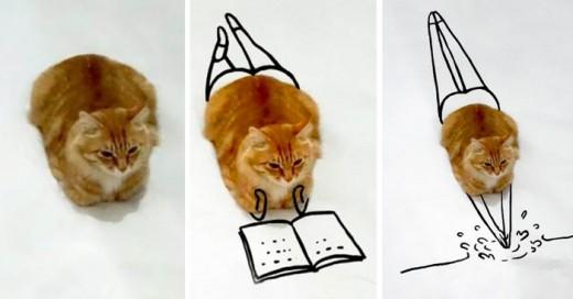 Dibuja al gato es un nuevo y divertido reto que se ha vuelto viral en redes sociales desde hace algunos días.