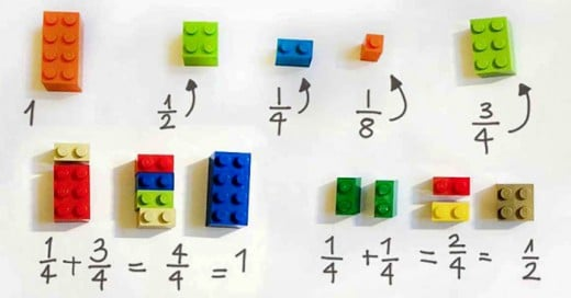 La maestra Allyson Zimmermman mostró una forma sencilla para facilitar el aprendizaje con estos bloques de juguetes