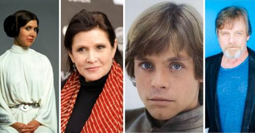 El increíble Antes y Ahora de los actores de 'La Guerra de las Galaxias