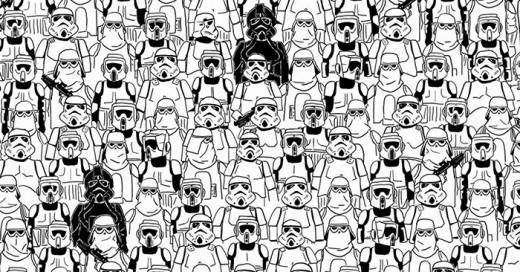 """Esta vez el desafió es encontrar al panda oculto en una edición especial de """"Star Wars"""""""