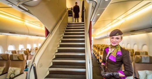 el airbus A380 en los Emiratos Árabes es un verdadero placer