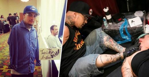 Brian Tagalog tiene 27 años y es un tatuador reconocido