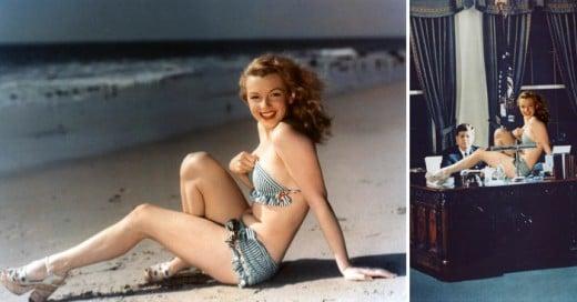 Ahora le toca una batalla de Ps a Marilyn