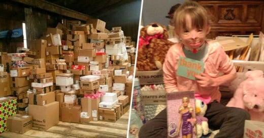 ¡Se cumplió el deseo de Safyre! ¡Ha recibido miles de cartas de todo el mundo para Navidad!