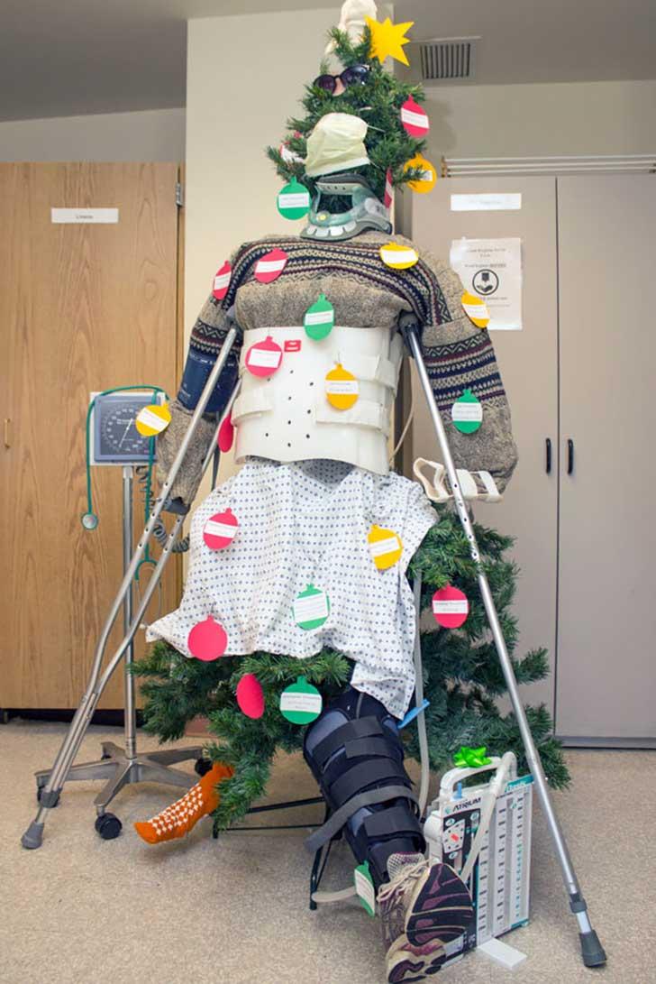 15 Decoraciones Navide 241 As M 225 S Creativas En Hospitales