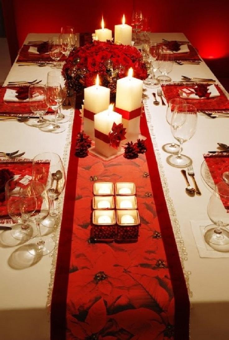 Ideas para decorar tu mesa esta navidad - Decoracion navidad mesa ...