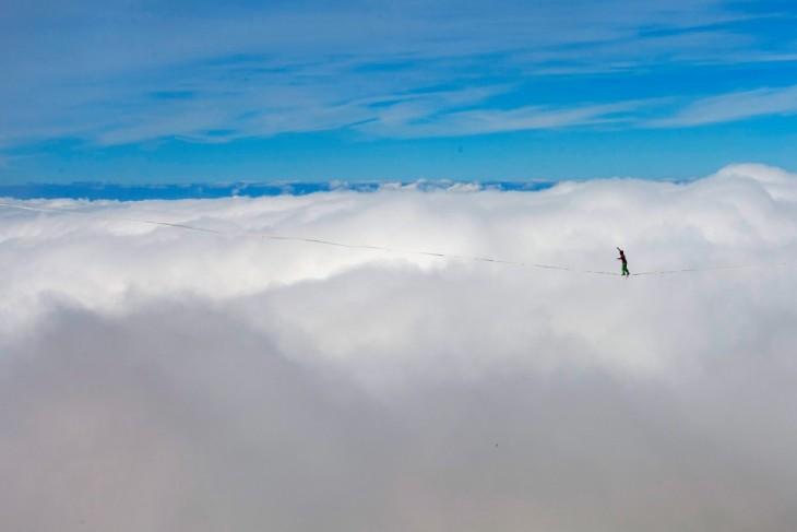 caminando sobre las alturas