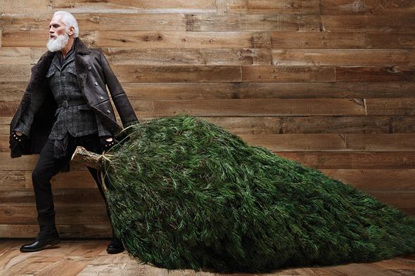 Paul Mason el fashion santa de Toronto