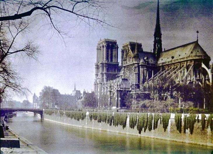 Paisaje de París en 1914