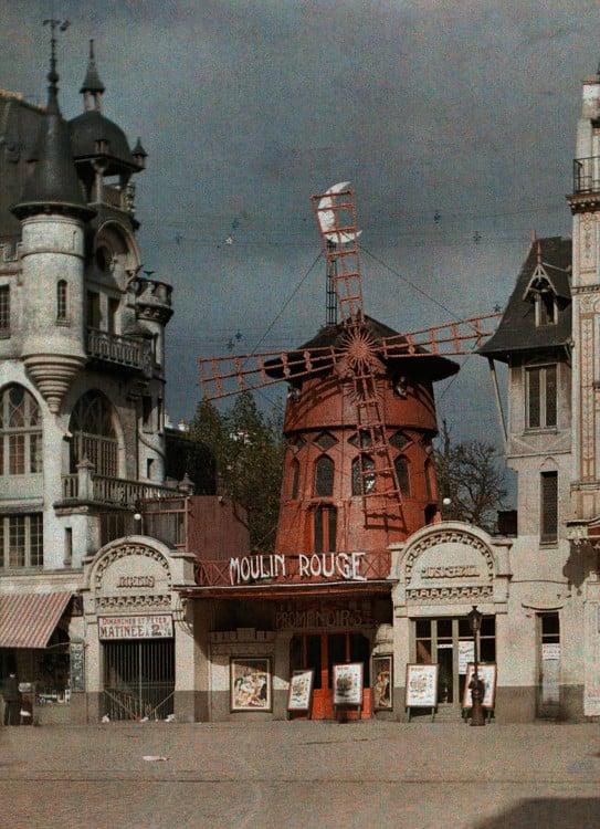 Moulin Rouge en París 1914