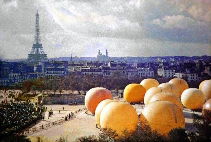 Paisaje de París en el siglo XX