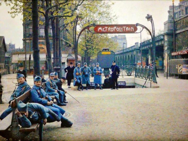 Personas en París de 1914