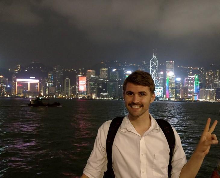 GORDY YATES EN HONG KONG