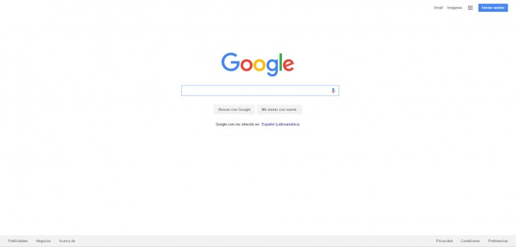 asi se veia google 2015