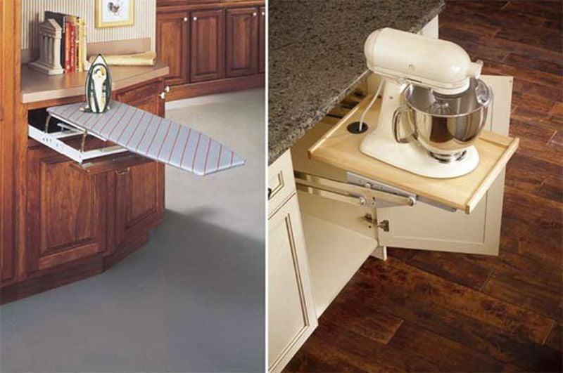 Ideas para aprovechar el espacio en el hogar for Ideas de cocinas para espacios pequenos