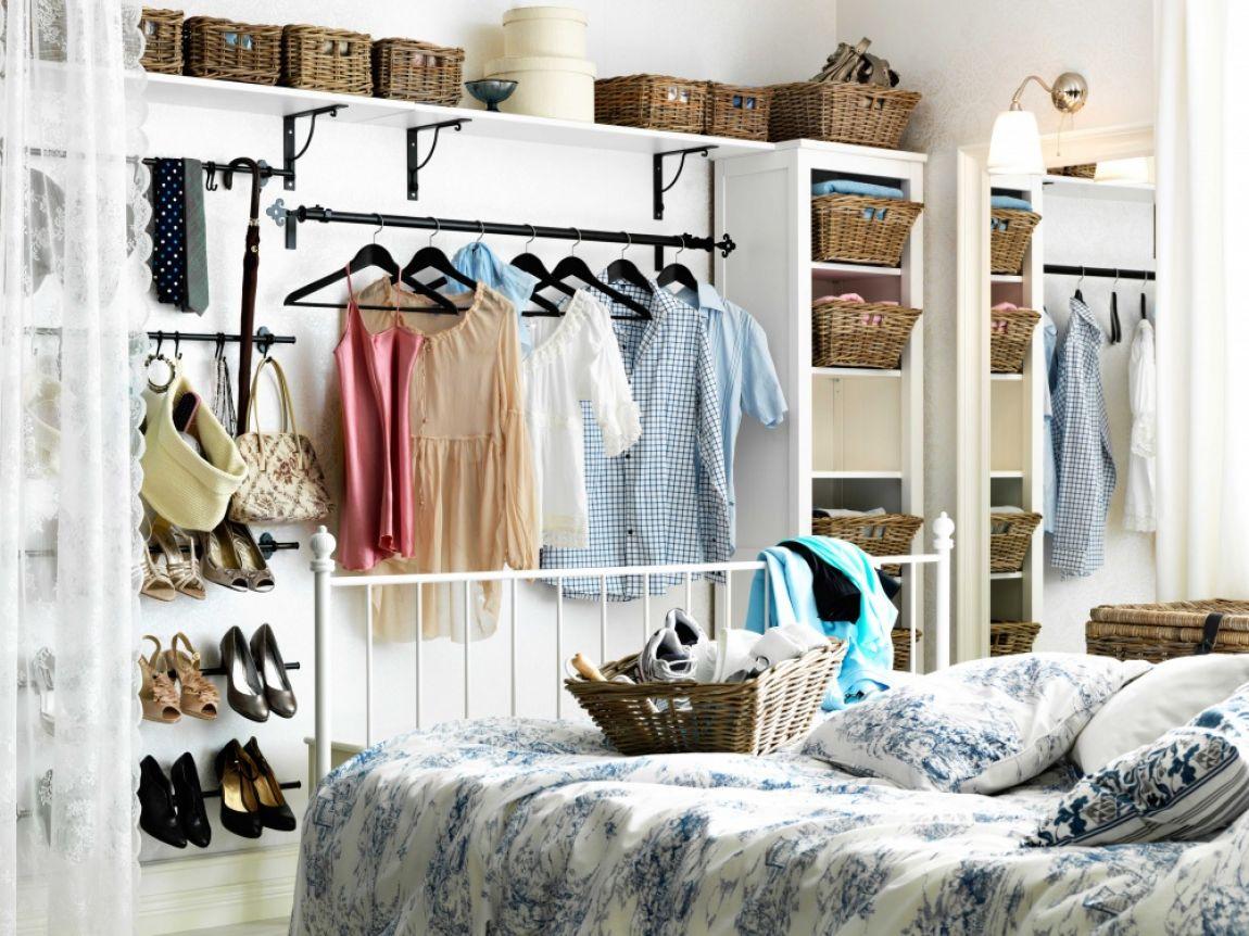 Ideas Para Tener Un Closet Organizado Dentro De Una Habitación