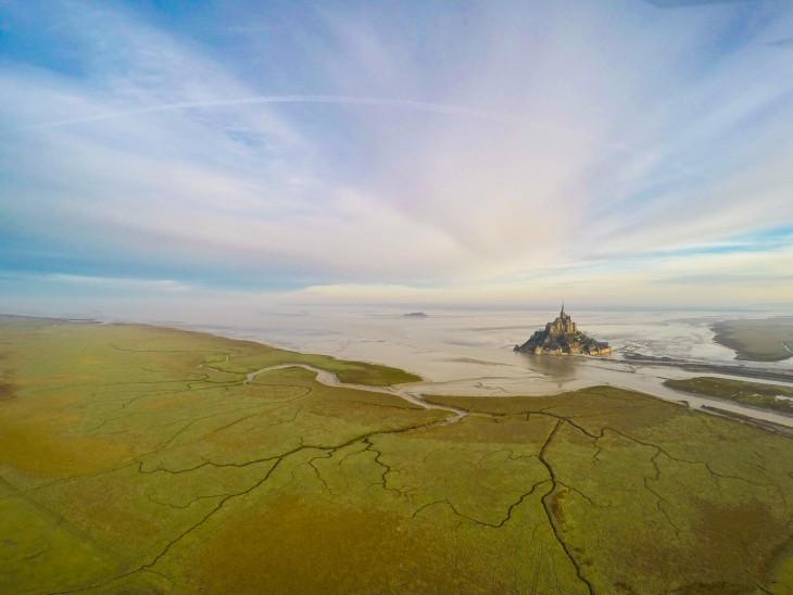 Monte San Michel en Francia