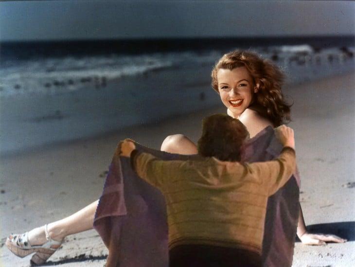 Internet trollea la primera fotografía de Marilyn Monroe