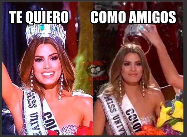 meme de te quiero pero como amigos de la miss colombia 2015
