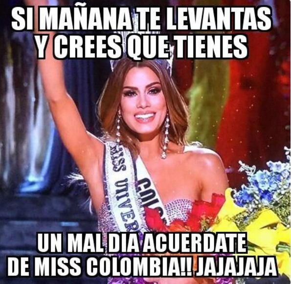 meme de la miss colombia 2015