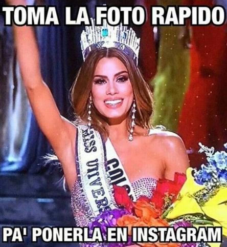 meme de la miss colombia en miss universo 2015