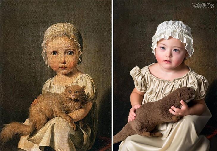Gabrielle Arnault imagen como niño