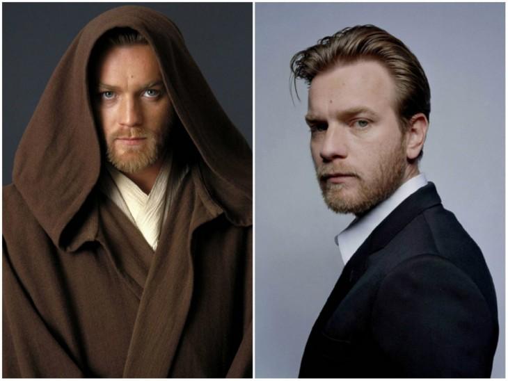 El joven Obi-Wan Kenobi — Ewan McGregor, 2005 y 2015