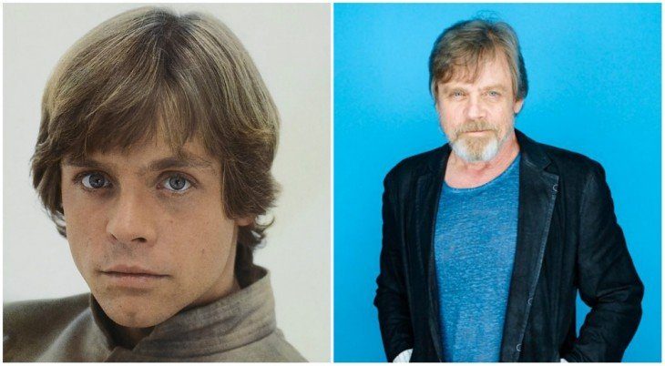 Luke Skywalker — Mark Hamill, 1980 y 2015