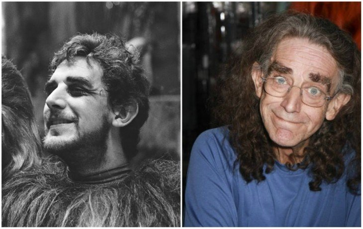 Chewbacca — Peter Mayhew, 1977 y 2014