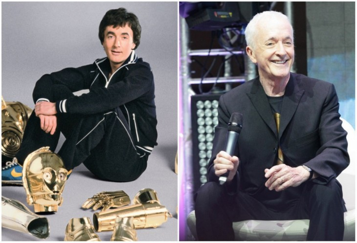C-3RO — Anthony Daniels, 1977 y 2015