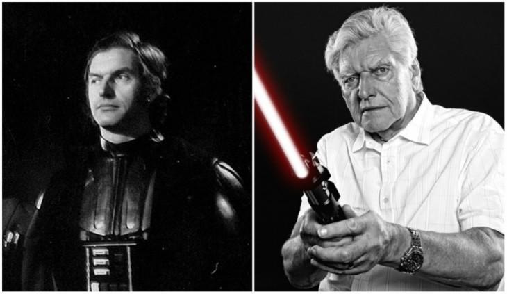 Darth Vader — David Prowse, 1980 y 2014