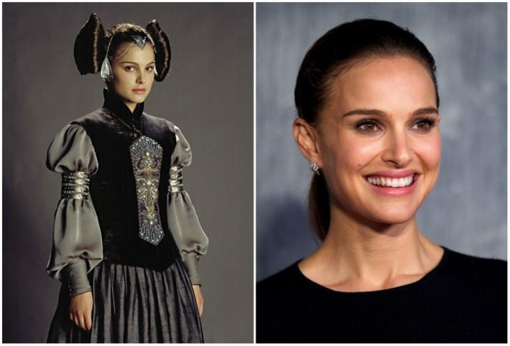 Padmé Amidala — Natalie Portman, 2003 y 2015