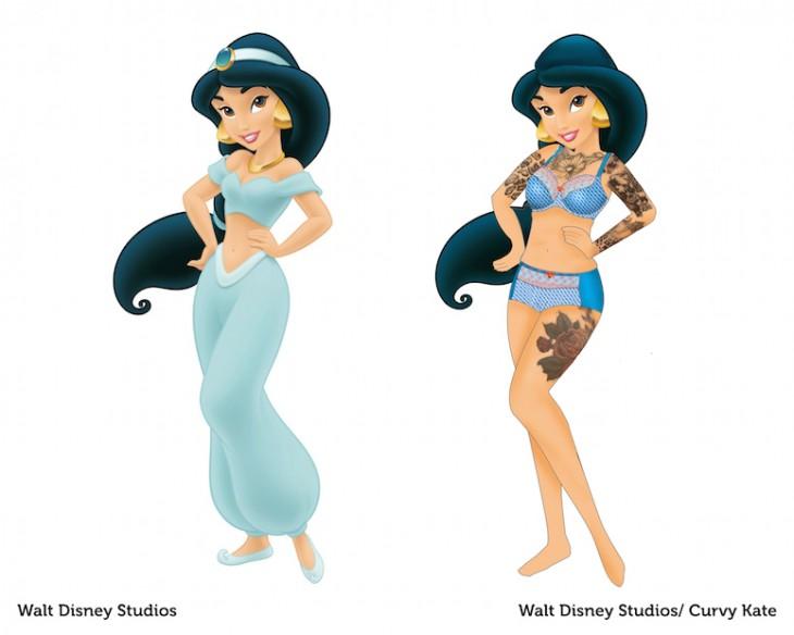 princesa Jazmin curvy