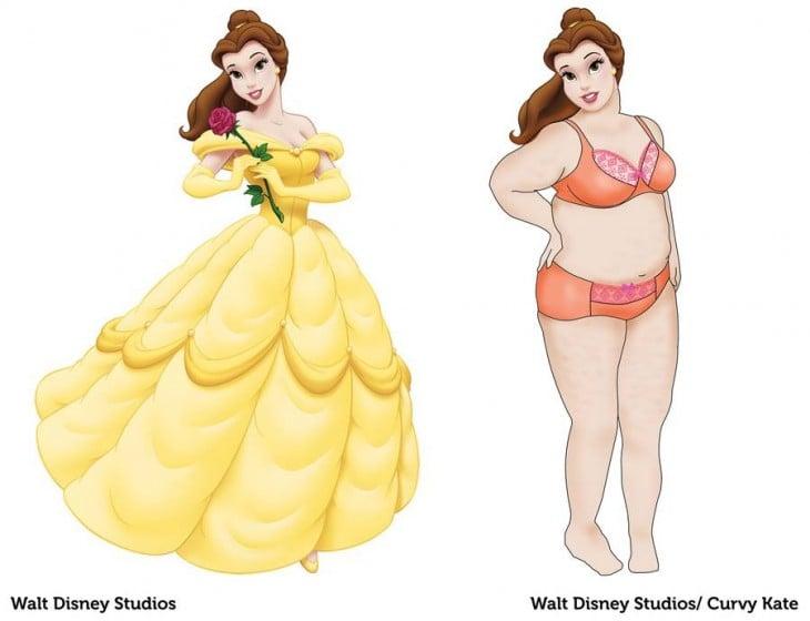princesa bella curvy