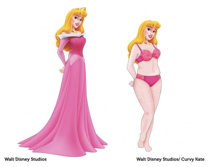 princesa aurora curvy