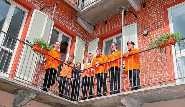 empleados del hotel Albergo Etico en Italia