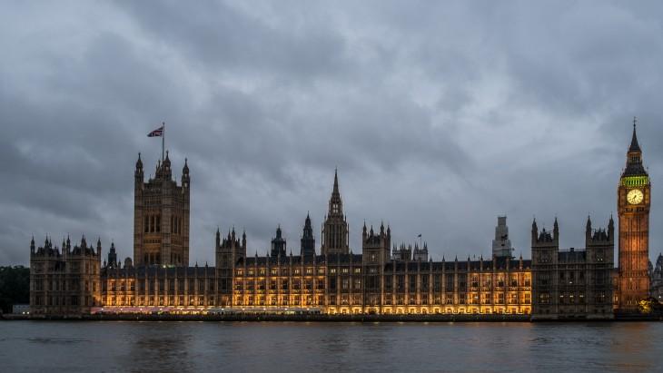 Casa del Parlamento en el Reino Unido