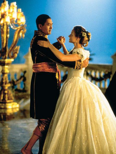 """Protagonistas de la película de 1999 """"Anna y el Rey"""""""