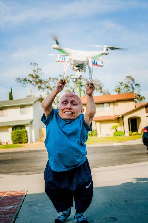 FOTO ORIGINAL DE VERNI TROYER SOBRE UN DRON