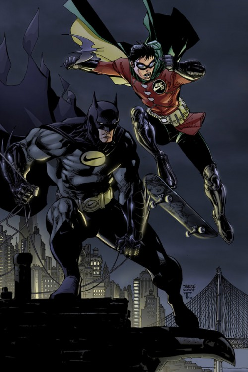 Batman y Robin patrocinados por Nike